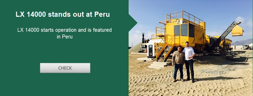 LX 14000 starts operation and is featured in Peru